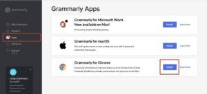 Grammarly 使用方式